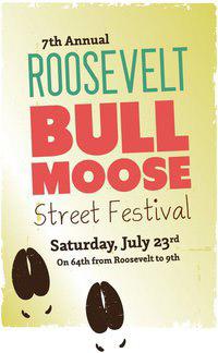 Roodevelt Bull Moose Festival Poster - 2011
