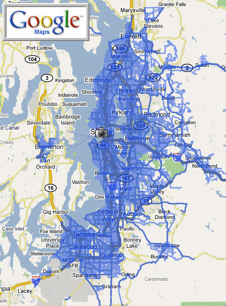 Google Maps Street View comes to Seattle, and more... - The ...