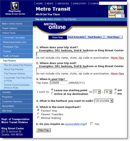 King County Metro Transit - King County