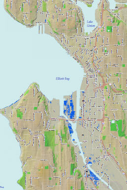 Seattle Flood Zones 2050