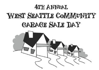 West Seattle Community Garage Sale Day